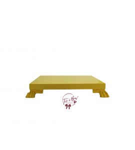 Yellow: Yellow Square Footed Tray