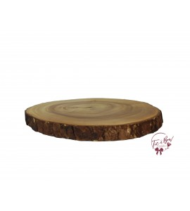 Wood: 10.25 Inches Wide Live Edge Wood Tray