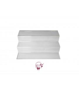 Clear 3-Tier Acrylic Tray (Medium)