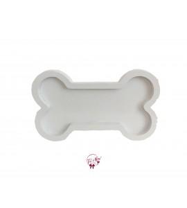 White: Bone Shaped Tray
