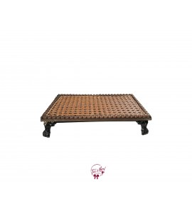 Caning Vintage Look Tray