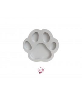 White: Paw Shaped Tray