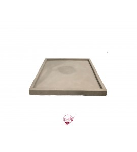 Concrete Square Tray