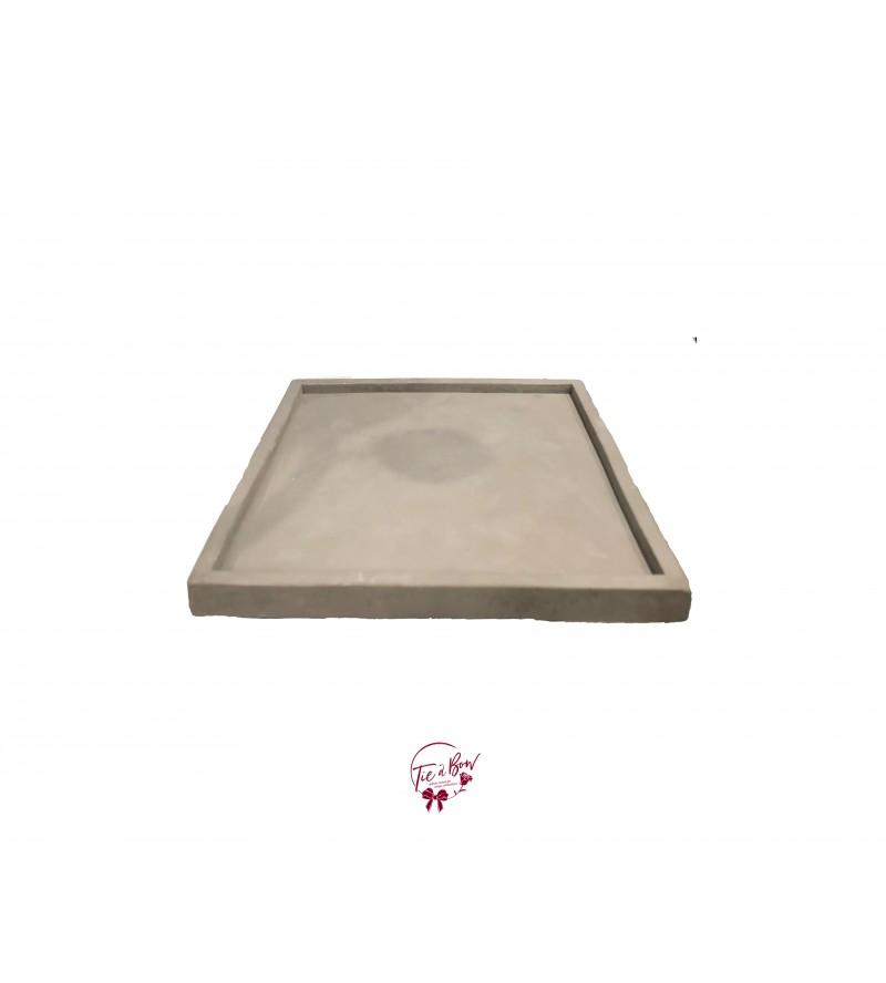 Concrete Square Tray