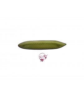 Green: Green Leaf Tray