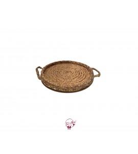 Hyacinth Round Tray