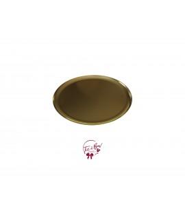 Gold: Golden Medium Round Plate