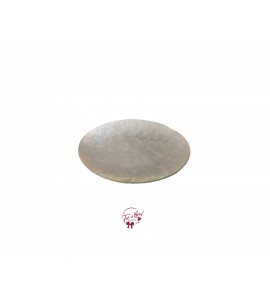 Pearl: Oval Pearl Shell Plate