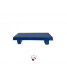 Blue: Royal Blue Rectangular Tray