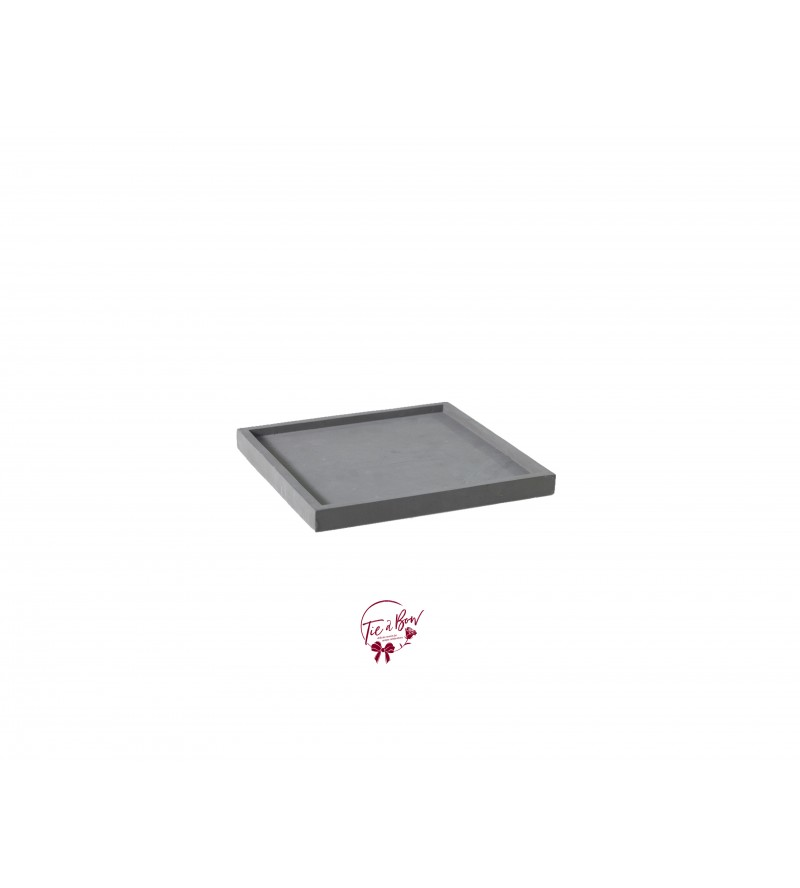 Cement: Square Cement Tray