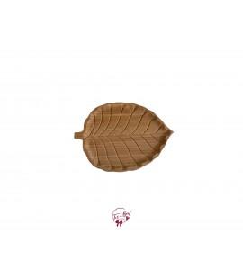 Wood: Tropical Leaf Tray