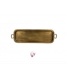 Brass Vintage Tray