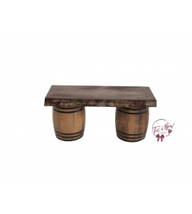 Wood: Wooden Barrel Tray