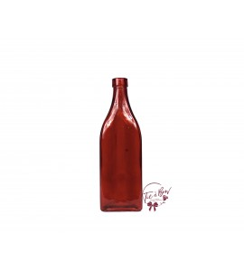 Red Bottle: Red Triangle Bottle