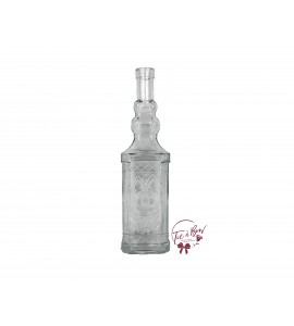 Clear Bottle: Clear Vintage Bottle