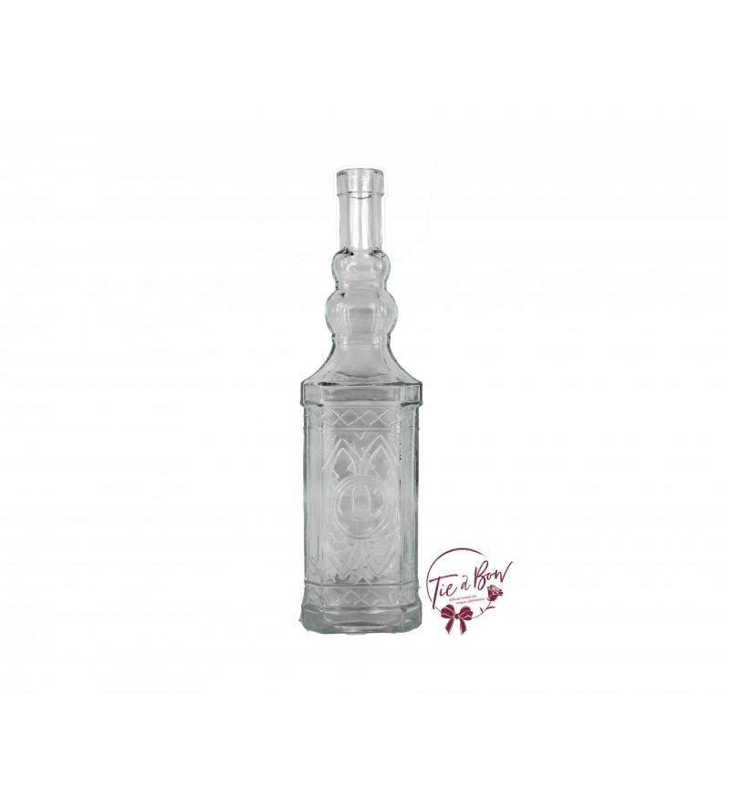 Clear Bottle: Clear Vintage Bottle