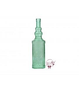 Green Bottle: Mint Green Vintage Bottle