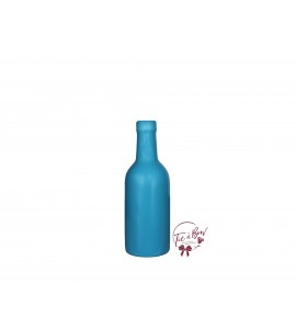 Blue Bottle: Olympic Blue Wine Bottle