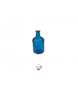 Blue Vintage Bottle