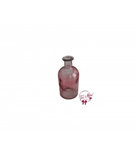 Pink Bottle: Round Pink Bulky Bottle