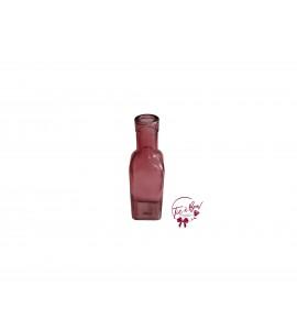 Pink Bottle: Square Pink Bottle