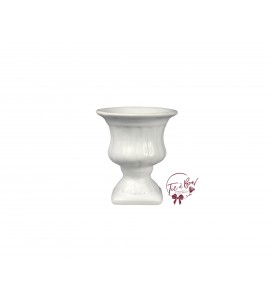 White Vase: White Greek Vase