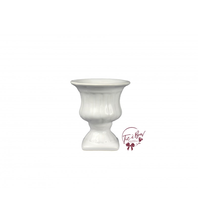 White Vase: White Greek Vase