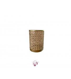 Caning Vase