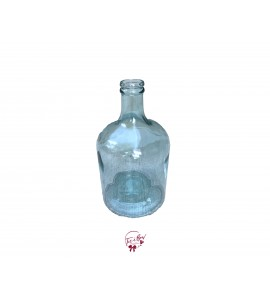 Clear Bottle Vase (Large)