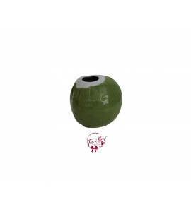 Green Vase: Fresh Coconut  Vase