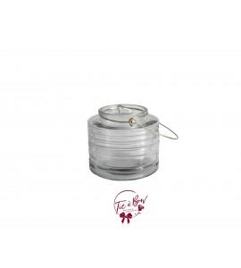 Clear Vase: Clear Lantern Vase