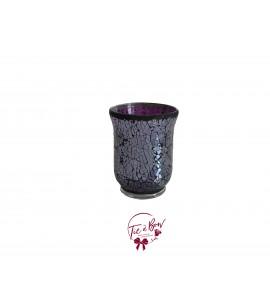 Purple Vase: Purple Mosaic Vase