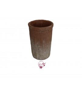 Terracotta: Rustic Terracotta Vase (Large)