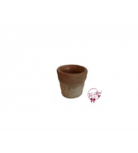Terracotta: Rustic Terracotta Vase (Small)