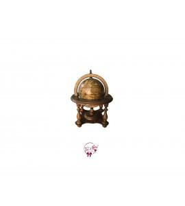 World Globe: Small Vintage Globe